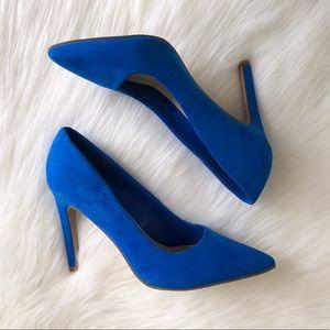 Pointy toe high heels